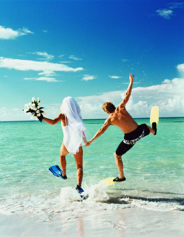 Поздравления для свадебного путешествия 84